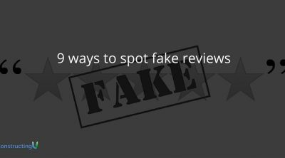 9 ways to spot fake reviews